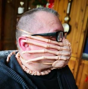 Alien Facehugger Mask
