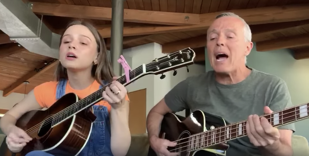 Curt Smith and Daughter Mad World