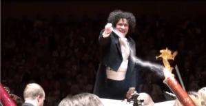 Gustavo Dudamel Conducting Animation