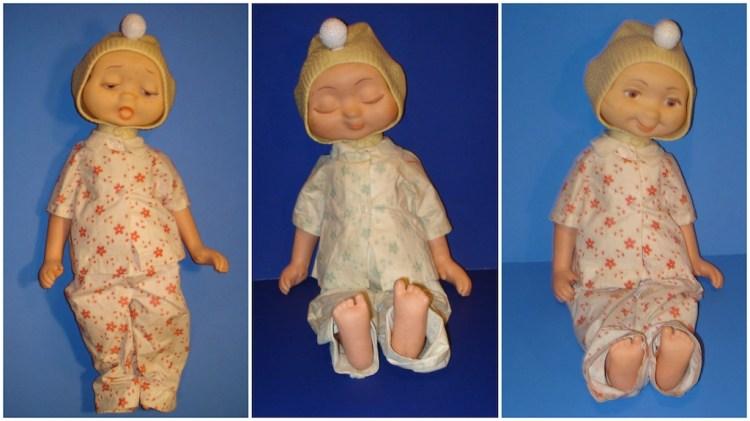 Hedda Get Bedda Doll Three Faces