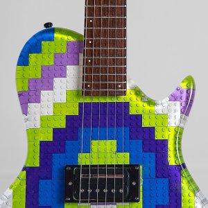 LEGO Gibson Les Paul Guitar