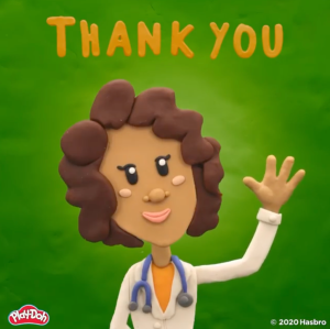 Play Doh Thank You Essential Workers