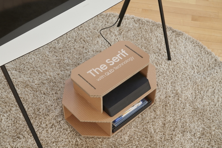 Samsung Serif Ecopackaging Media Center