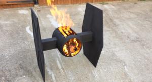 TIE Fighter Fire Pit