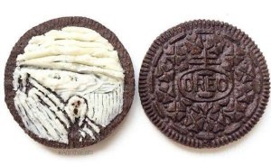 The Scream Oreo