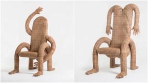 Anthropomorphic Woven Chairs