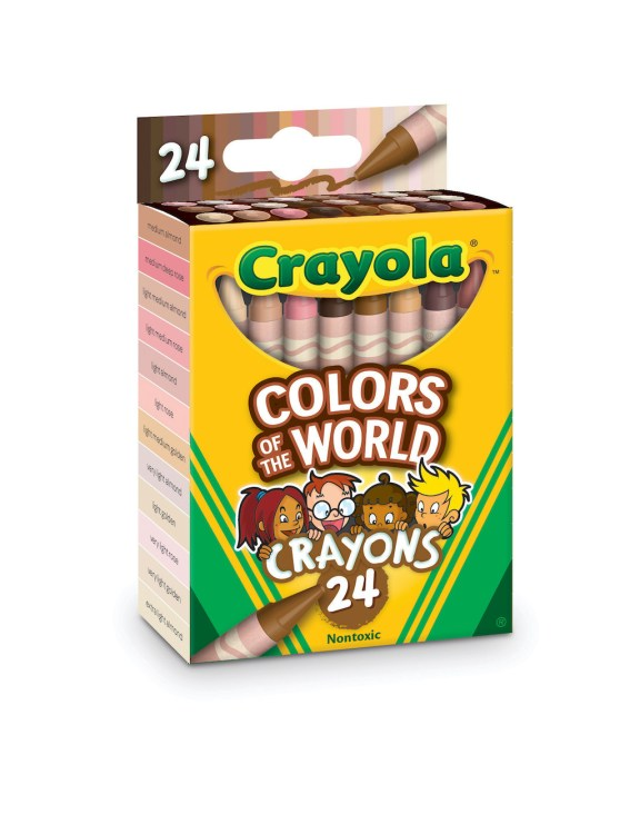 Colors of the World Crayons Front