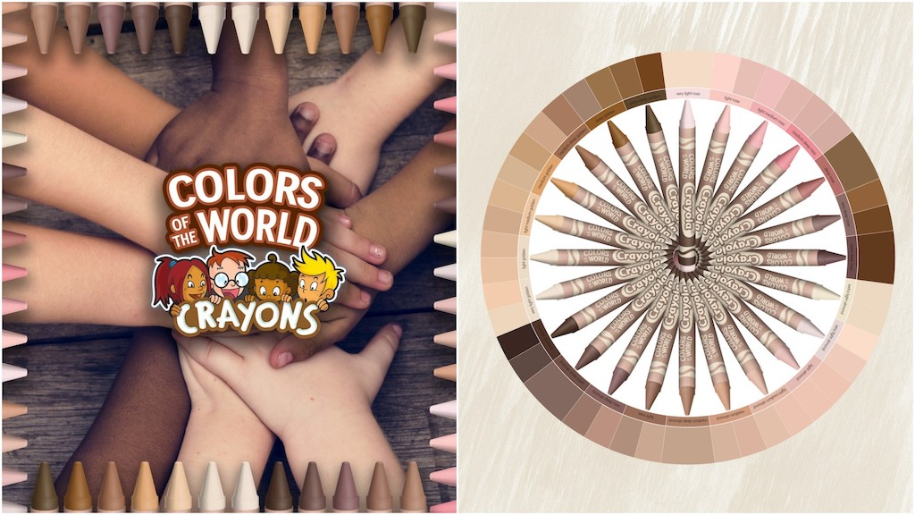Crayola Introduces 'Colors of the World' Crayons That Truly Represent the Various Shades of the 'Flesh' Color