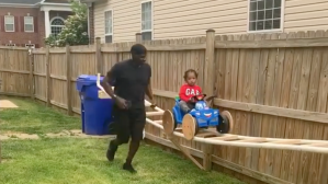 Grandfather Builds Rollercoaster His Grandson