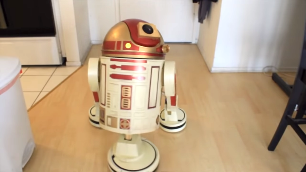 Housekeeping Droid Front