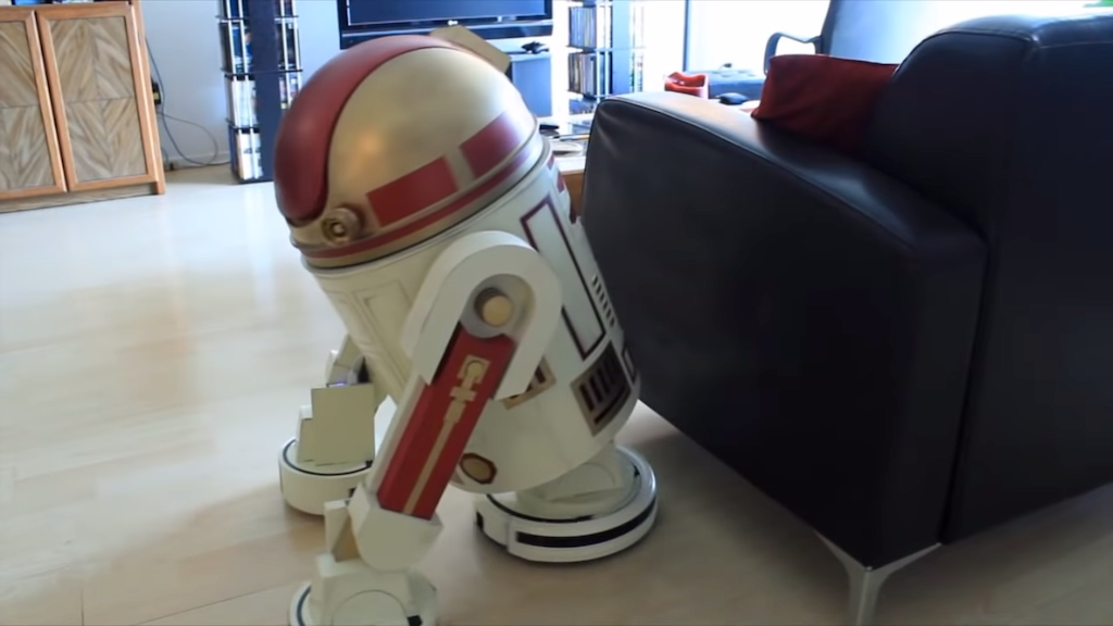 Housekeeping Droid Sides