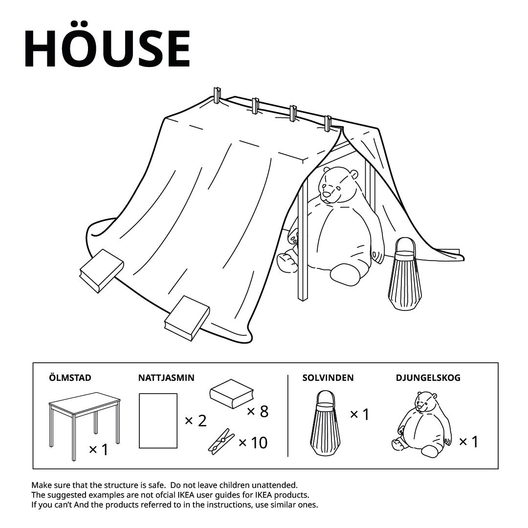 IKEA Fort House