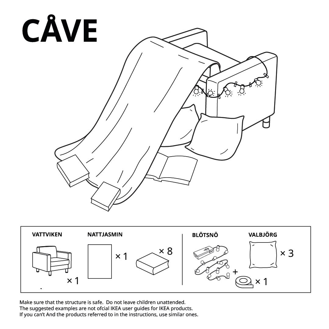 IKEA Forts Cave