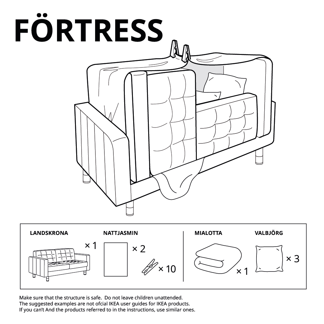IKEA Fort Fortress