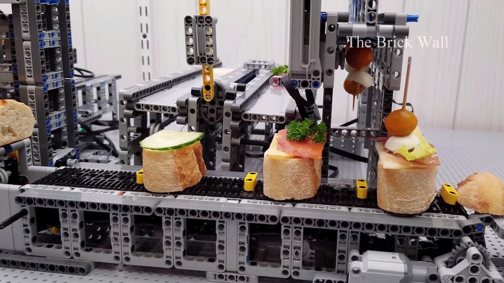Lego Tapas Factory
