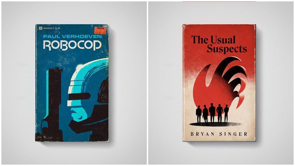 Movies Reimagined as Classic Paperback Books