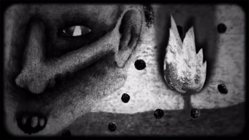 Fire (Pozar), An Incredibly Surreal Hand-Drawn Animated Short by Legendary Director David Lynch