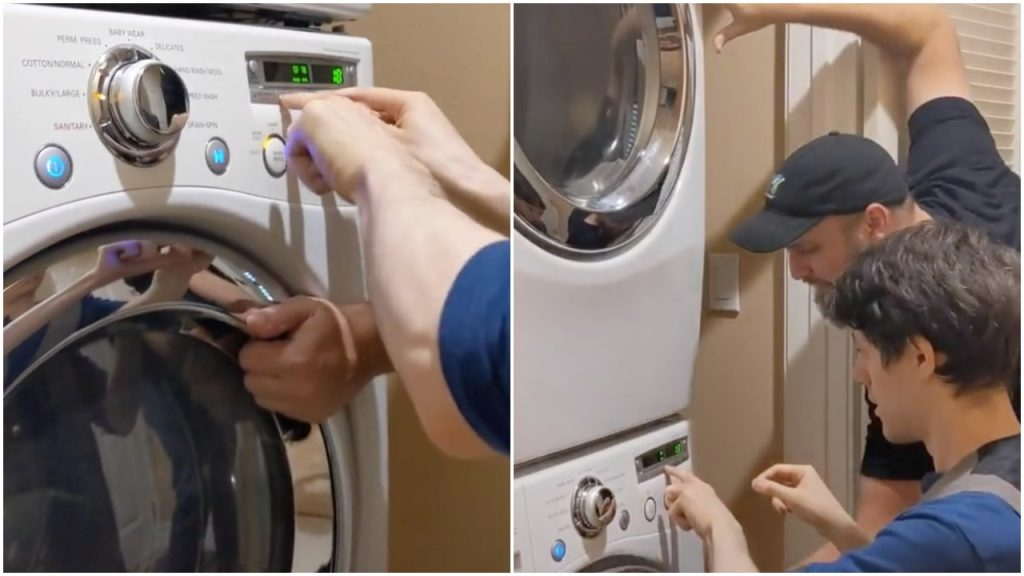 a-ha's 'Take On Me' Performed on a Washing Machine