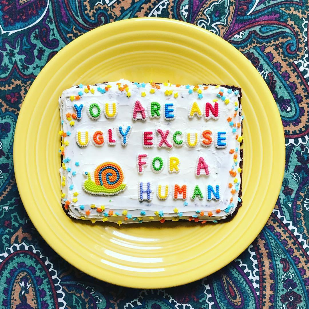 Bakery Turns Hateful Internet Comments Into Yummy Cakes to Send to Those Who Made the Comments