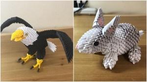 3D Origami Animals