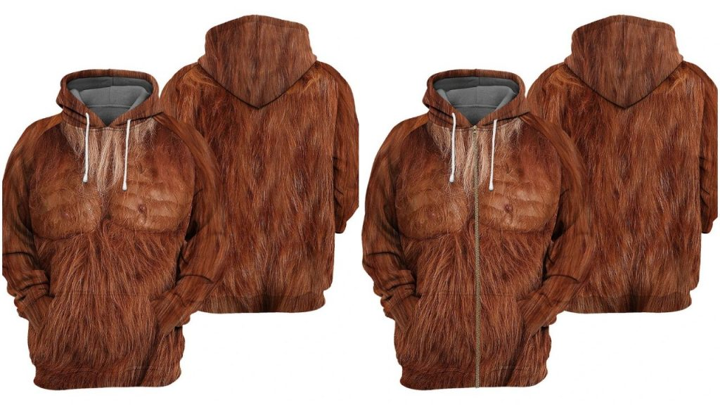 Realistic Bigfoot Hoodies