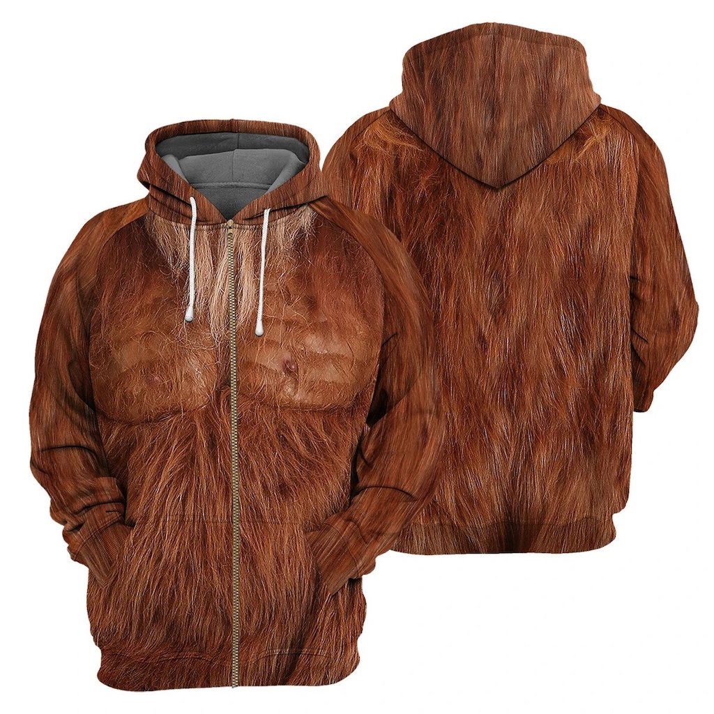 Bigfoot Zip Hoodie