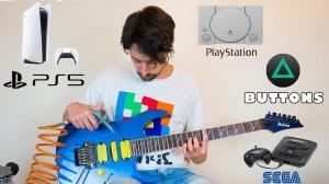 David Lap Game Console Guitar