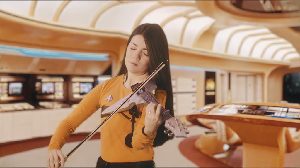 Flying V Violin