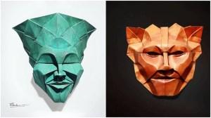 Fynn Jackson Origami Masks