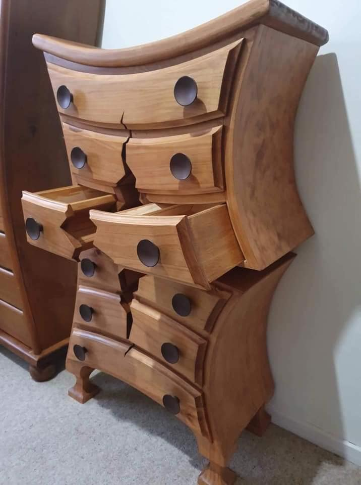 Henk One of a Kind Woodwork Creations Dresser 3