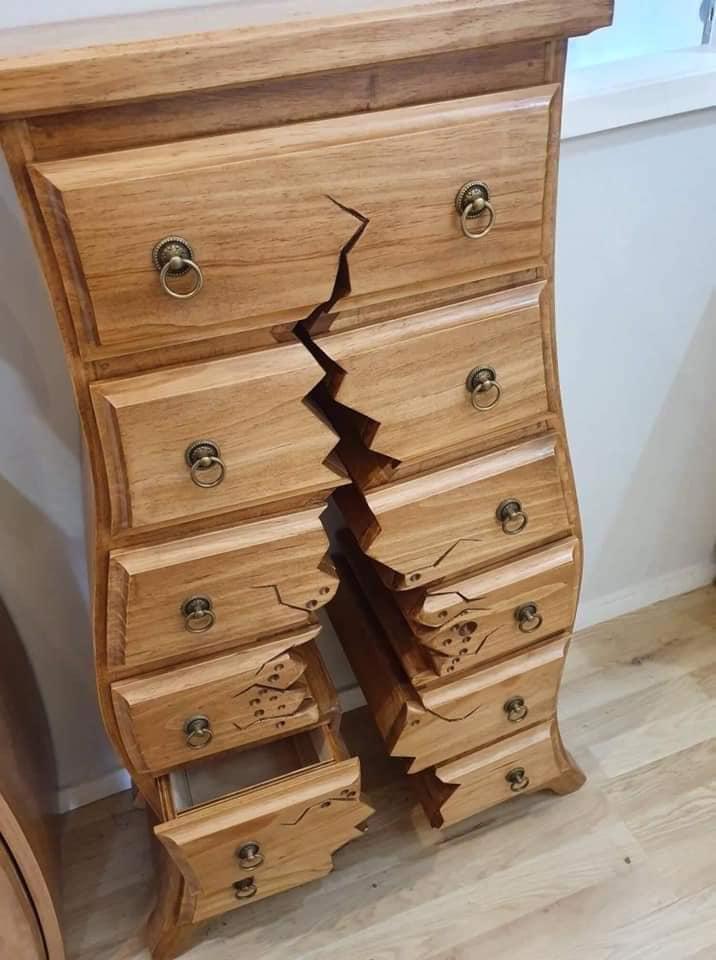 Henk One of a Kind Woodwork Creations Dresser Bottom