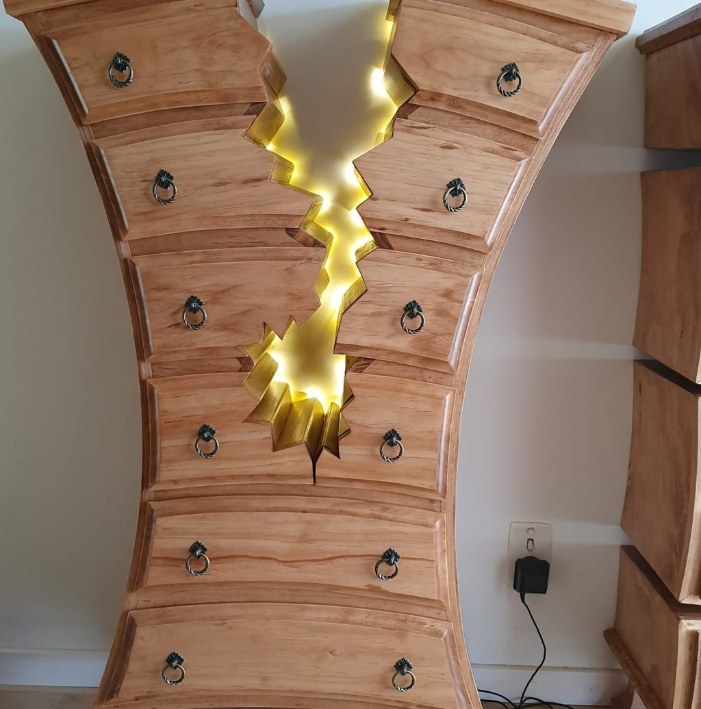 Henk One of a Kind Woodwork Creations Dresser