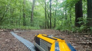 LEGO Train Through the Forest