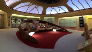Star Trek The Next Generation D Bridge Miniature