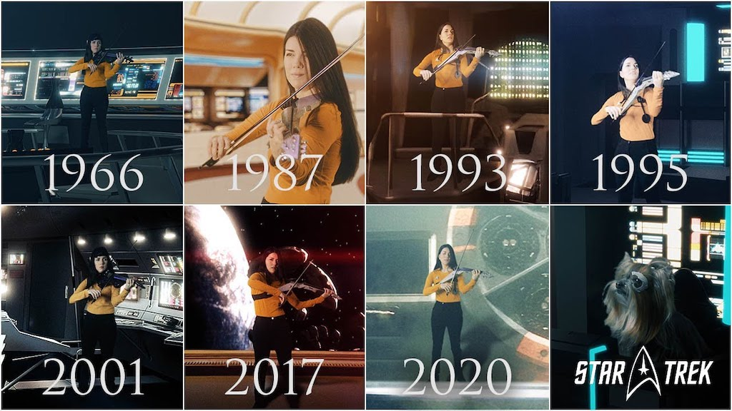 Star Trek Theme Evolution Violin