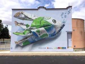 Tetra Fish Mural
