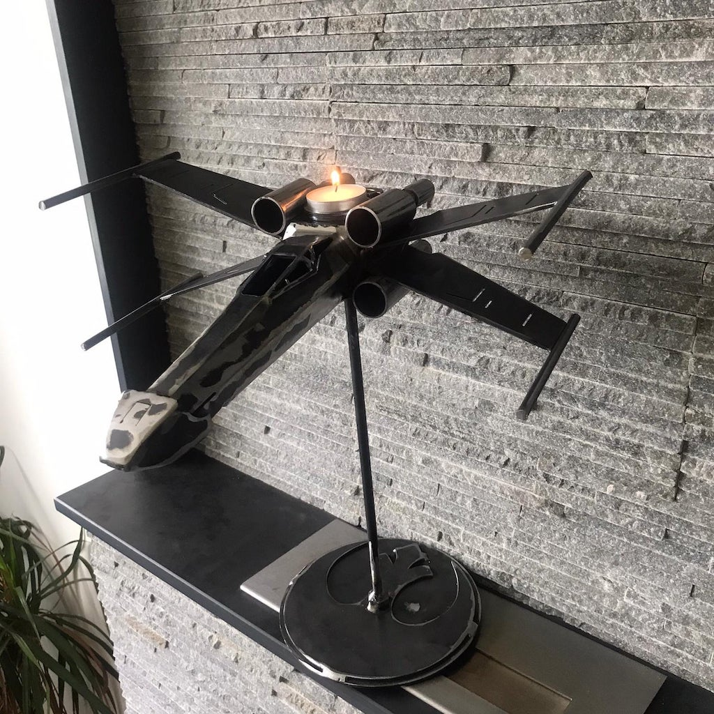 X Wing Fighter Candlestick