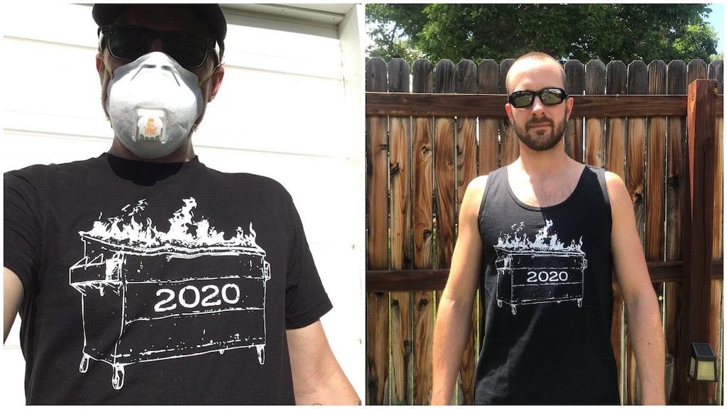 2020 Dumpster Fire Shirt