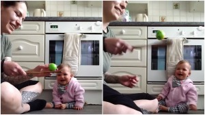 Baby Contagious Laughter