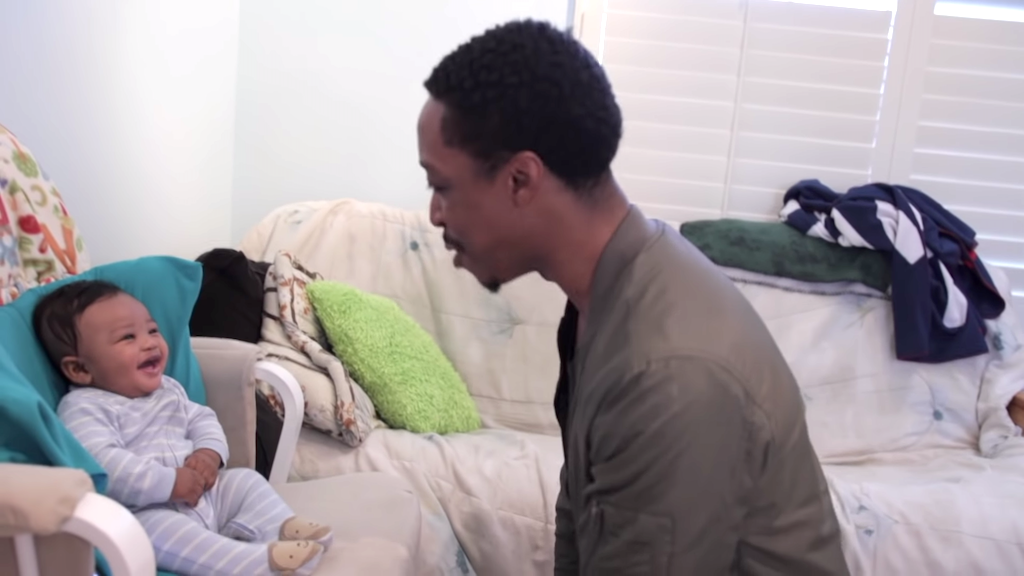Father Attempts to Battle Rap With His Baby Son Who Keeps Interrupting With Adorably Contagious Laughter
