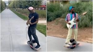 Chavis Flagg Guitar Skateboard Atlanta Beltline