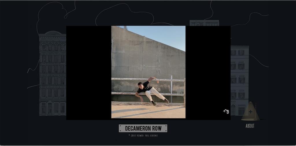 Decameron Row California Dancer