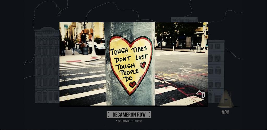 Decameron Row NYC