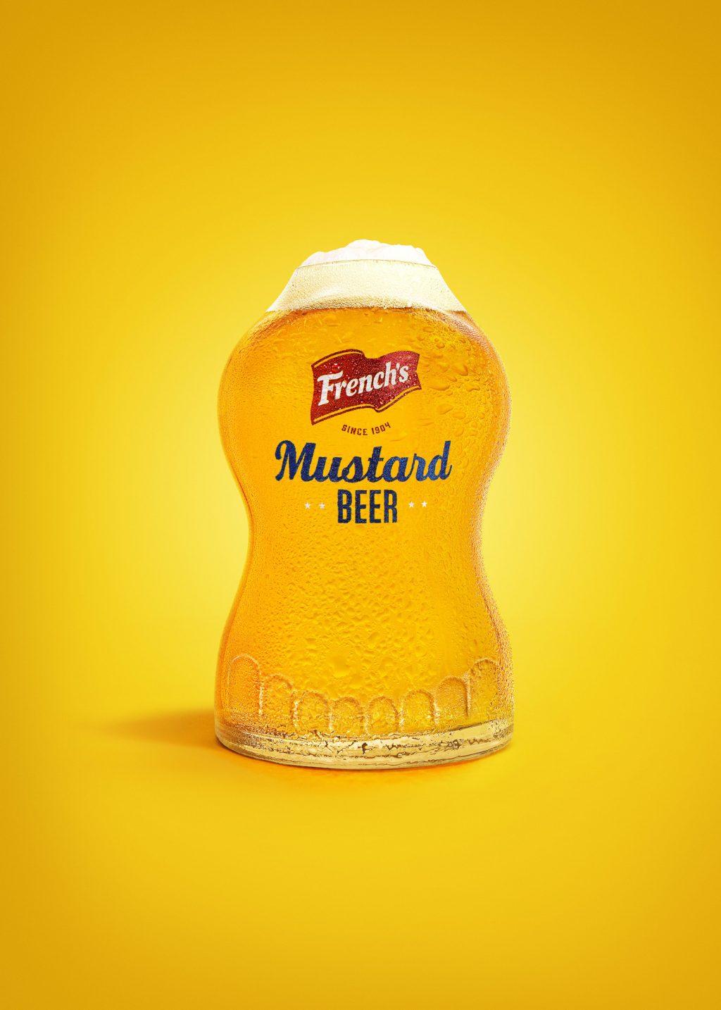 Frenchs Mustard Beer Bottle Shape