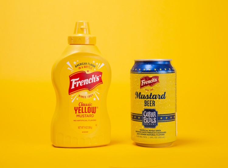 Frenchs Mustard Beer Can
