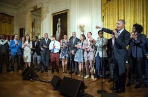 Hamilton Cast at White House