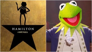 Hamilton by Muppets
