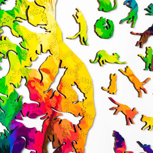 Herding Cats Puzzle Pieces
