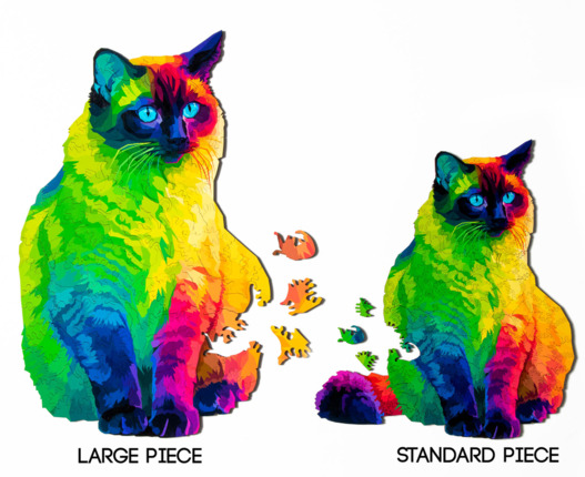 Large Small Cat Puzzle