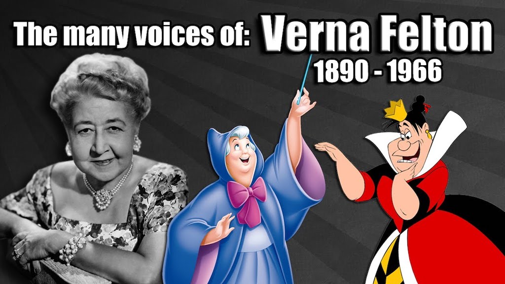 Many Voices of Verna Felton Disney